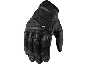 Icon Superduty 2 Leather Gloves Black XL