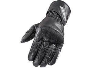 Joe Rocket Pro Street 2015 Mens Leather Glove Black LG