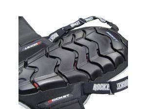 "Joe Rocket Speedmaster 2.0 Back Protector Black LG (21.9"" Length)"