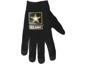 Power Trip U.S. Army Halo Gloves Black LG