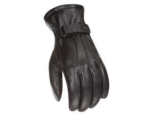 Power Trip Jet Black Lined Mens Gloves Black LG