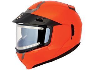 Scorpion EXO-900 Electric Snowmobile Helmet Hi-Viz Orange MD