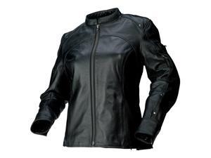 Z1R 243 Womens Leather Jacket Black XL