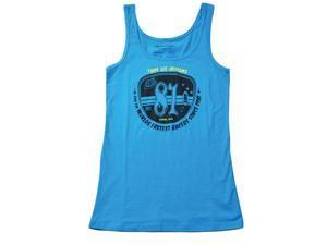 Troy Lee Designs Plated Womens Tank Top Turquoise XL