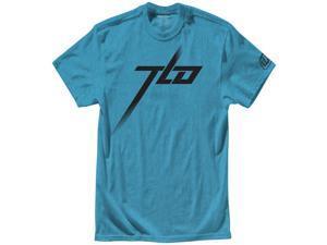 Troy Lee Designs Blocker Logo Mens Short Sleeve T-Shirt Turquoise MD