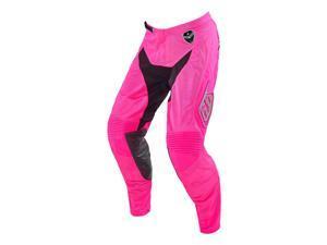 Troy Lee Designs SE Air Starburst 2016 MX/Offroad Pants Pink/Black 32