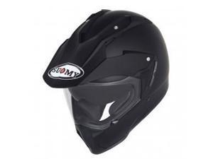 Suomy MX Tourer Dual Sport Helmet Matte Black 2XL