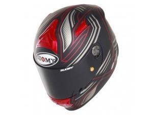 Suomy SR Sport Racing Full Face Motorcycle Helmet Matte Red XL