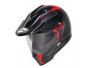 Suomy MX Tourer Dual Sport Helmet Anthracite/Red SM