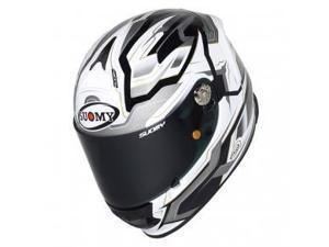 Suomy SR Sport Diamond Full Face Motorcycle Helmet Gray XL