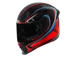 Icon Airframe Pro Halo Carbon Helmet Carbon Glory/Red/Black LG