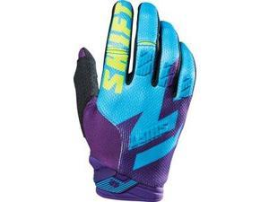 Shift Faction 2016 MX/Offroad Gloves Purple/Yellow SM