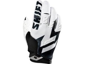 Shift Faction 2016 MX/Offroad Gloves Black/White SM