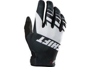 Shift Assault 2016 Youth MX/Offroad Gloves Black/White MD