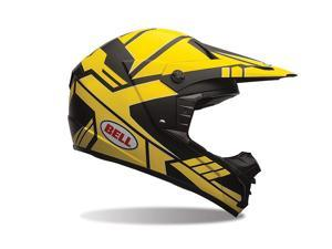 Bell SX-1 Offroad Helmet Stack Charcoal/Yellow LG