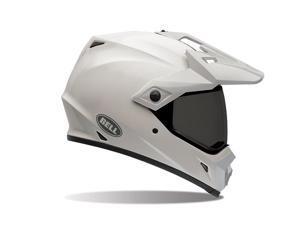 Bell MX-9 Adventure Solid Full face Helmet White MD