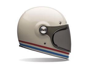 Bell Bullitt Stripes Full Faced Helmet Pearl White MD