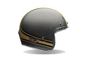 Bell Custom 500 Carbon RSD Bomb Open-Face Helmet Black/Gold LG