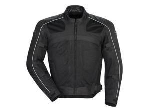 Tourmaster Draft Air Series 3 Mens Textile Jacket Black MD