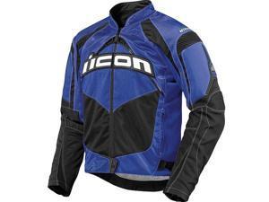 Icon Contra Textile Jacket Blue LG