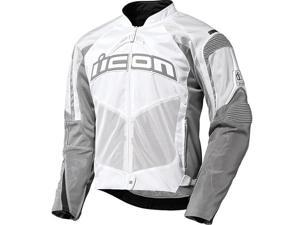 Icon Contra Textile Jacket White LG
