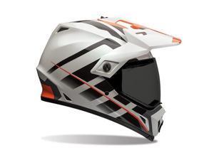 Bell MX-9 Adventure Raid Adult Helmet Orange/White MD