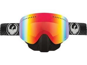 Dragon NFX Frameless Snowmobile Goggles Blur/Black