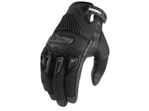 Icon Twenty Niner 29 Textile Gloves Black LG
