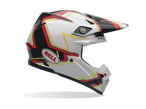 Bell Moto- 9 Pace Adult Helmet Black/White LG