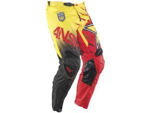 Answer Rockstar 2015 MX Offroad Pant Red/Yellow 28