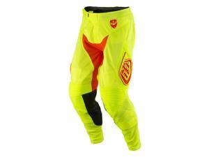 Troy Lee Designs SE Air Starburst 2016 MX/Offroad Pants Fluorescent Yellow/Orange 38