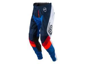 Troy Lee Designs SE Air Corsa Mens MX/Offroad Pants Navy Blue/White/Red 34