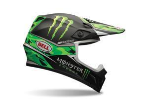 Bell MX-9 Pro Circuit Offroad MX Helmet  Green Camo/Black LG