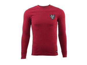 Bell Shield Long Sleeve Thermal Shirt  Cardinal Red MD