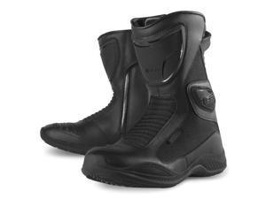 Icon Womens Reign Waterproof Street Boots Black 6