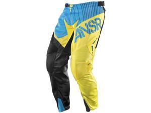 Answer Alpha Air 2015 MX Offroad Pant Blue/Yellow 28