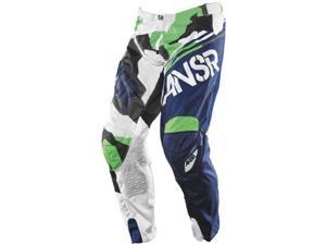Answer Elite LE 2015 Youth MX Offroad Pant Navy/Green 20
