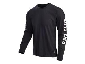 Troy Lee Designs Race Club 2016 Mens Long Sleeve Shirt Black LG