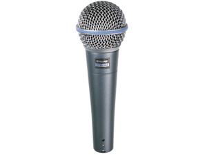 Shure Beta 58A Supercardioid Dynamic Microphone