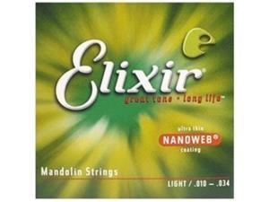 Elixir Mandolin Medium - Nanoweb