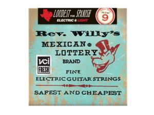 Dunlop - Reverend Willy - Medium Light Electric Guitar Strings