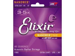 Elixir Acoustic Extra Light - Nano