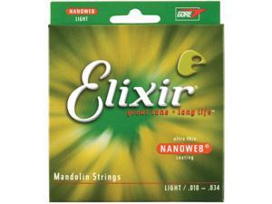 Elixir Mandolin Light Strings - Nano