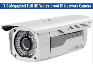 3 Mega-Pixel IP IR Outdoor Camera H.264,ICR True Day and Night, PoE, 3G Phone and Micro SD Support