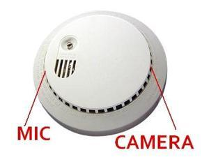 Smoke Detector Hidden Camera 620 TVL Day and Night Built-in Microphone 3.7mm Fixed Pinhole Lens