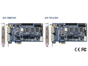 GeoVision GV-1008-8 3-in-1 8ch DVR combo Card, H.264 Hardware Compression 240 FPS Full D1 8.5 software