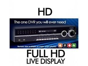 8Ch Real-Time High Quality DVR system Support POS/ATM transaction DVDRW 1TB Loop-Out HDMI