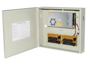 Power Supply Distribution Box - 12V DC 16 channels High Output 25 Amps, Resettable PTC Fuse