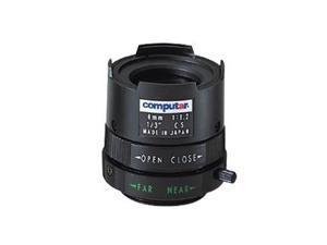 "Computar Ganz High Quality CCTV Camera Lens T0412FICS 1/3"" 4mm f1.2 Monofocal, Manual Iris (CS Mount)"