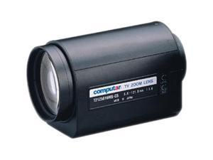 "Computar Ganz High Quality CCTV Camera Lens T21Z5816MS 1/3"" 5.8-121mm f1.8 21X Motorized Zoom, 3 motors w/spot (CS Mount)"